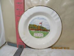 White Pines Forest Lodge Ashtray - The Sabina Line 22 K Made In U.s.a. - No