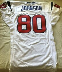 Andre Johnson Houston Texans 2003 Rookie Authentic Reebok Team Issued Jersey New