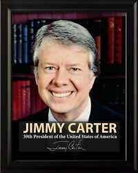 Jimmy Carter 39th President Poster Picture Or Framed Wall Art