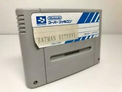 Batman Returns Sample Sfc Not For Sale Operation Confirmed Collection Collector