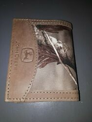 John Deere Wallet - Tri Fold Camo - New Open Box Display $14.70