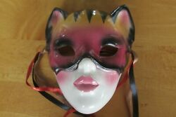 Clay Art SF USA 9A38 Hanging Wall Cat Mask