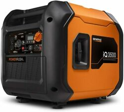 Generac 3500-w Quiet Portable Gas Powered Inverter Generator With Electric Start