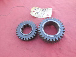 Porsche 911 901 Transmission Gear Set 4th And 5th Speed V 2725 5