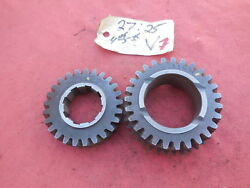 Porsche 911 901 Transmission Gear Set 4th And 5th Speed V 2725  7