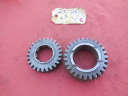 Porsche 911 901 Transmission Gear Set 4th And 5th Speed V 2725  6