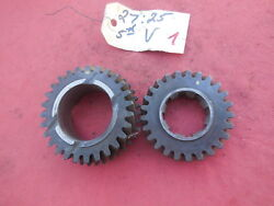 Porsche 911 901 Transmission Gear Set 4th And 5th Speed V 2725 1