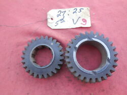 Porsche 911 901 Transmission Gear Set 4th And 5th Speed V 2725  9