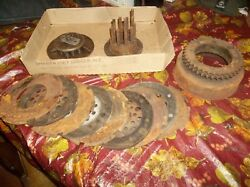 Antique Harley Davidson Knucklehead Panhead Primary Chain Drive Clutch Assembly
