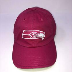Nwt Nfl Pink Seattle Seahawks Youth Hat Nfl Adjustable Girls Youth Size