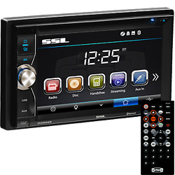 Sound Storm Labs Dd899b Stereo Am/fm/cd/dvd/mp3 6.2 Color Lcd
