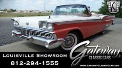 1959 Ford Galaxie Skyliner PinkWhite 1959 Ford Galaxie Convertible 332 CID V8 3 Speed Automatic Available