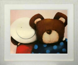 Friends By Doug Hyde. Signed Numbered And Framed In Stock. Very Rare