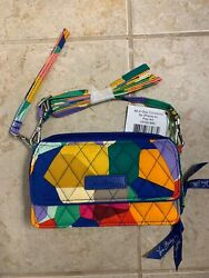 New With Tags, Vera Bradley All In One Crossbody For Iphone 6+ In Pop Art