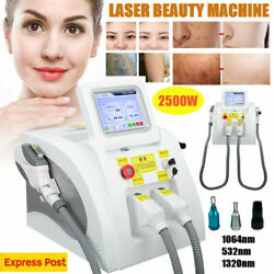 2500w Laser Tattoo Pigment Removal Beauty Machine Skin Whitening Spot Remover