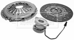 Borg And Beck Clutch Kit 3-in-1 + Csc Hkt1049 - Genuine - 5 Year Warranty