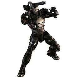 Used Hot Toys Marvel Future Fight War Machine Armor The Punisher 1/6 Figure