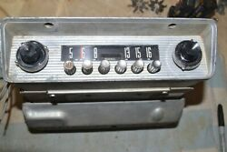 Ford By Sylvania 2cf Am Pushbutton Radio 1952 52 Car Pro Serviced