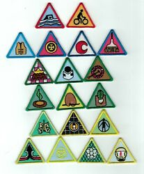2000s Scout Of Malaysia - Cub Scout Proficiency Award Badges Set