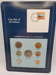 Coin Sets Of All Nations Commonwealth Of Australia 6 Coins Stamp Info Card New