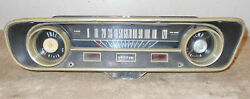 1965 Ford Mustang Fastback Coupe Convertible Orig Dash Gauge Instrument Cluster
