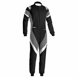Sparco 001135h52ngbo Driving Racing Suit Victory Black /gray Medium New