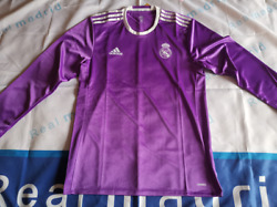 Real Madrid 2016-17 Long Sleeve Away Match Player Issue Shirtpromotion