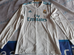 Real Madrid 2017-18 Ls Home Match Player Issue Shirtpromotion