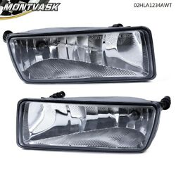 Left And Right Driving Bumper Fog Lights Assembly For 2006-2010 Ford Explorer