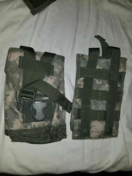 Acu Molle Ii Canteen Utility Pouch Official Usgi Military New