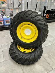 John Deere Gator New Front Tires And Rims Sold As Set