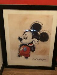 Eric Robison Mickey Poster 30x42 No Frame