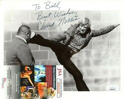 Chuck Norris Actor Martial Artist Hand Signed Autograph 8x10 Photo With Jsa Coa