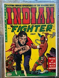 Indian Fighter 8 1951 - Youthful Magazines - G/vg Condition