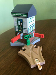 Thomas amp; Friends Wooden Railway Maron Signal House Lights amp; Sounds Working 2013