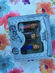 Wow Vintg 2006 Orange County Choppers Pez Set Collectible New In Tin Case Sealed