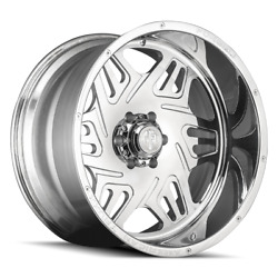 22x12 American Truxx Atf1908 Orion Forged Polished Wheels 8x170 -44mm Set Of 4