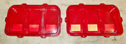 1970 Mustang Fastback Coupe Convertible Mach 1 Boss Orig Rear Tail Light Lenses