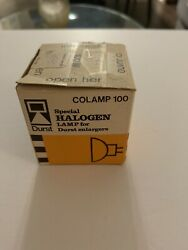 Halogen 100w Colamp 100 Lamp For Durst Enlargers - New In Open Box