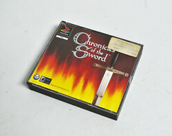 Chronicles Of The Sword Sony Playstation 1, 1996 Pal French Version