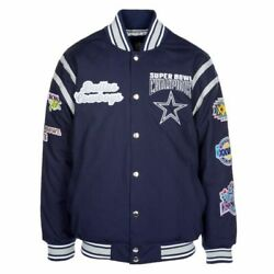 Dallas Cowboys Nfl All Time Varsty Jacket Super Bowl Champions X-large