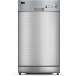 Furrion Fdw18sas-ss 18 Built-in Rv Trailer Dishwasher With Double Rack New