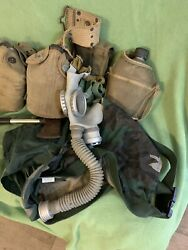 Ww2 Us Military 1944 Gpandf And 1941 M1910 Canteens Carrier Axe Cam M1950 Pouches