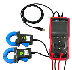 Large Caliber Double Clamp Meter Digital Phase Voltmeter 600a Ac Voltage Tester
