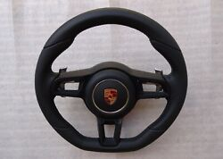 Porsche 991 2012 19 Gt3 Rs Pdk Blk Leather Gt Steering Wheel Flat Bottom And A B