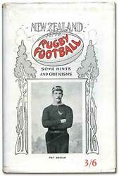 Irwin Hunter / New Zealand Rugby Football Some Hints And Criticisms 1st Ed 1929
