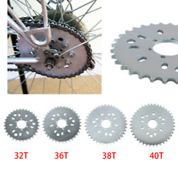 Wheel Sprocket 32 - 44t Tooth Motorized Gas Cycle Bicycle 50cc 60cc 80cc H/p New