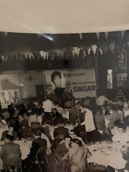 Vintage Photograph - Sinclair Gas Private Party Photo By Jerry Darvin
