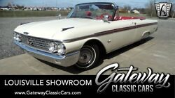 1962 Ford Galaxie  White 1962 Ford Galaxie Convertible 390 CID V8 3 Speed Manual Available Now!