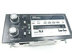 Oem Cadillac Bose Gold Series Stereo Cassette Tape Player Seville 16126336